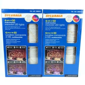 String Lights LED 2pack by Sylvania
